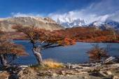 Mount Fitz Roy, Los Glaciares National Park, Patagonia — Stock Photo