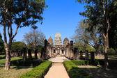 Wat si tap, shukhothai historyczny park, tajlandia — Zdjęcie stockowe