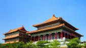 Chinesische traditionelle tempel in thailand — Stockfoto