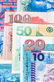 Hong Kong dollar money banknote close-up — Stock Photo