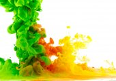 Mixed colored liquid 2 — Stock Photo