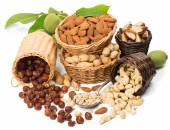 Group of nuts  — Stock Photo