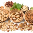 Types of nuts — Stock Photo #53410737