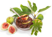 Jam of fig — Stockfoto