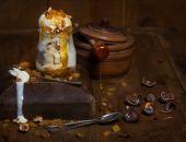 ice cream in vintage style — Foto Stock