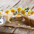 Spa theme object of chamomile — Stock Photo #67662313