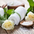 Spa theme object of roses — Stock Photo #68960053