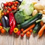 Fresh ripe vegetables — Stock Photo #76715871