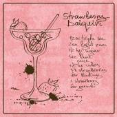 Hand drawn Daiquiri cocktail — Vecteur
