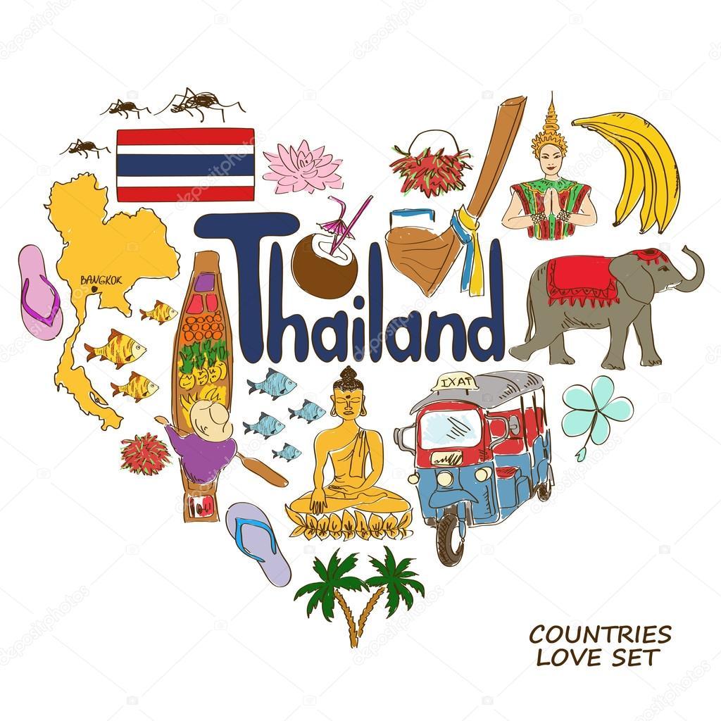 Рисунки о тайланде