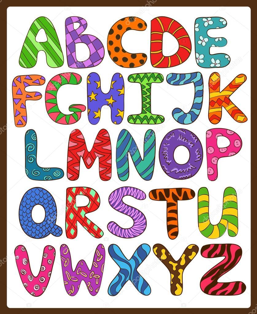 Letras Scraft Para Decorar