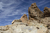 Rocks de Garcia in national park Las Canadas del Teide. — Stock Photo
