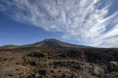 View of craters Narices del Teide and Pico Viejo, Tenerife.  — Stock Photo
