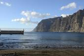 Guios beach in Los Gigantes, Tenerife, Canary Islands, Spain. — Stock Photo