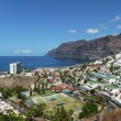 Gigantes cliffs view from uptown Los Gigantes, Tenerife Island. — Stock Photo #68788621