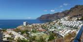 Gigantes cliffs view from uptown Los Gigantes, Tenerife Island. — Stock Photo