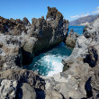 Very small cove among Barbero cape rocks, Tenerife, Canary Islan — Stock Photo #70596065