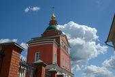 Gate Church of Nativity of John Baptist in Intercession Khotkov — Stock Photo