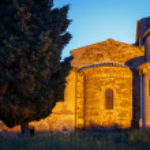 Abbey of Saint Antimo, Tuscany — Stock Photo #53855073