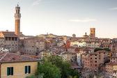 Cityscape of city Siena — Stock fotografie