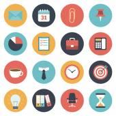 Ensemble d'icônes de bureau — Vecteur