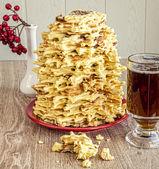 National Polish-Lithuanian dessert — Stock Photo