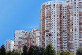 Modern high-rise buildings — Стоковое фото