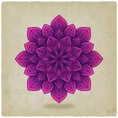 Circular pattern mandala old background — Stock Vector