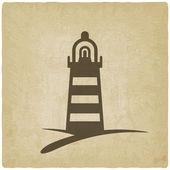 Beacon navigate symbol — Stock Vector