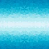 Poligonal fundo azul — Vetor de Stock