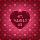Valentine Day card — Vector de stock