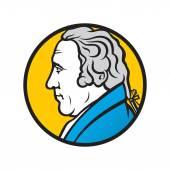 Inventor James Watt — Stock Vector