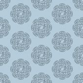 Roll wallpaper seamless pattern — Stock Vector