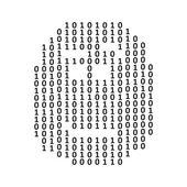 Matrix head sign — Stockvector