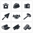 Construction and home repair icons — Stock Vector #66278693