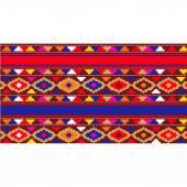 Carpet  colorful  oriental ornament — Stock Vector