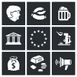 Germany and  European Union Icons set — 图库矢量图片 #69208947