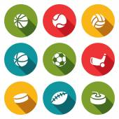 Sports Icons collection — Stock Vector