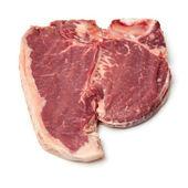 T-bone steak geïsoleerd op een witte studio achtergrond. — Stockfoto