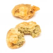 Pea fritters or balls — Stock Photo