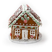 Traditional home made Ginger bread house — Stock Photo