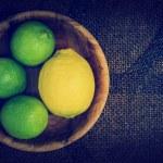 Limes and lemons — Stock Photo #69511097
