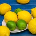 Limes and lemons — Stock Photo #69511103