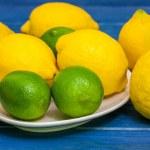 Limes and lemons — Stock Photo #69511107