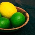 Limes and lemons — Stock Photo #69511127