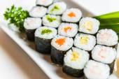 Rolo de sushi — Fotografia Stock