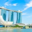 The Marina Bay Sands Resort Hotel in Singapore — Stock Photo #51840615