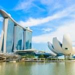 The Marina Bay Sands Resort Hotel in Singapore — Stock Photo #51847045
