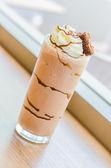 Chocolate smoothies — Stock Photo