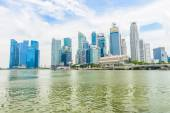 Paisagem urbana de cingapura — Foto Stock